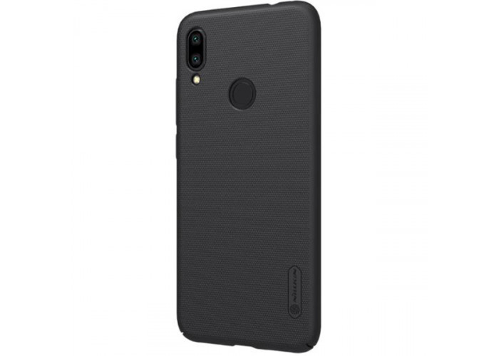 Чехол накладка для Xiaomi Redmi Note 7 Nillkin Super Frosted Shield Черный