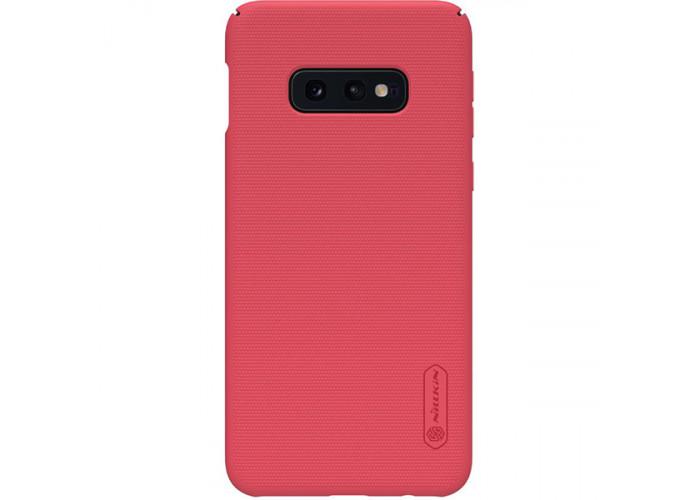 Чехол накладка для Samsung Galaxy S10e Nillkin Super Frosted Shield Красный