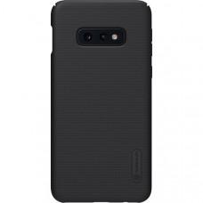 Чехол накладка для Samsung Galaxy S10e Nillkin Super Frosted Shield Черный