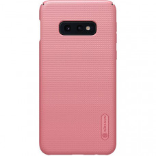 Чехол накладка для Samsung Galaxy S10e Nillkin Super Frosted Shield Розовый