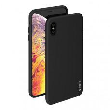 Силиконовый чехол для Apple iPhone XS Max Deppa Gel Case Черный (85355)