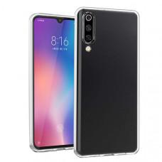 Силиконовый чехол для Xiaomi Mi9 DF xiCase-43 Прозрачный