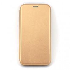 Чехол книжка для Samsung Galaxy A20 Neypo Золотой