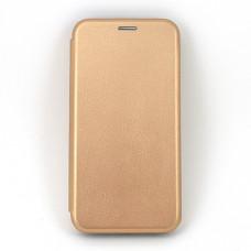 Чехол книжка для Samsung Galaxy A30 Neypo Золотой