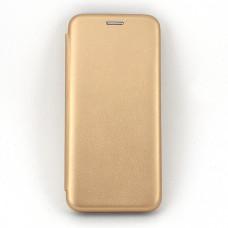 Чехол книжка для Samsung Galaxy A50 Neypo Золотой