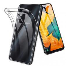 Силиконовый чехол для Samsung Galaxy A40 Neypo Прозрачный