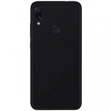Силиконовый чехол для Xiaomi Redmi 7 Cherry Черный