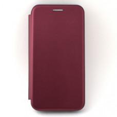 Чехол книжка для Samsung Galaxy A40 Neypo Бордовый