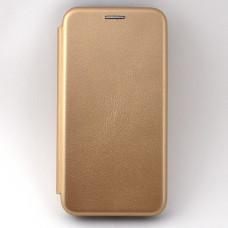 Чехол книжка для Samsung Galaxy A40 Neypo Золотой