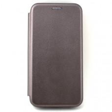 Чехол книжка для Samsung Galaxy A40 Neypo Серебряный