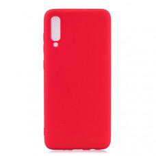 Силиконовый чехол для Samsung Galaxy A50 Cherry Красный