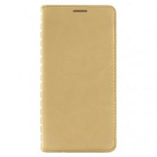 Чехол книжка для Samsung Galaxy A20 Book Case Золотой