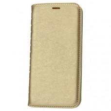 Чехол книжка для Samsung Galaxy S10 Book Case Золотой