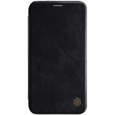 Чехол книжка для Apple iPhone XR Nillkin Qin leather case Черный
