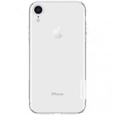 Силиконовый чехол для Apple iPhone XR Nillkin Nature TPU Case Белый