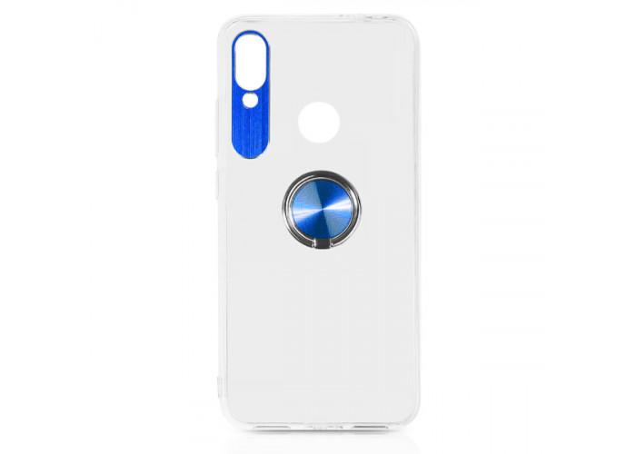 Силиконовый чехол для Xiaomi Redmi 7 DF xiTRing-03 Синий