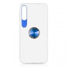 Силиконовый чехол для Samsung Galaxy A50 DF sTRing-04 Синий