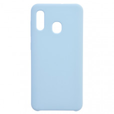Чехол накладка для Samsung Galaxy A30 CasePro Liquid case Бирюзовый