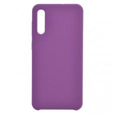 Чехол накладка для Samsung Galaxy A50 CasePro Liquid case Фиолетовый