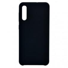 Чехол накладка для Samsung Galaxy A50 CasePro Liquid case Черный