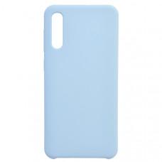 Чехол накладка для Samsung Galaxy A50 CasePro Liquid case Бирюзовый