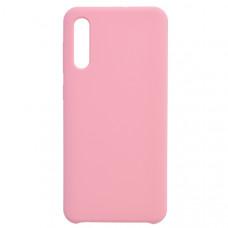 Чехол накладка для Samsung Galaxy A50 CasePro Liquid case Розовый