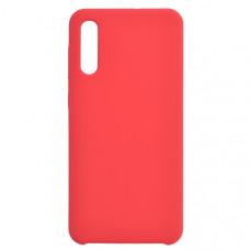 Чехол накладка для Samsung Galaxy A50 CasePro Liquid case Красный