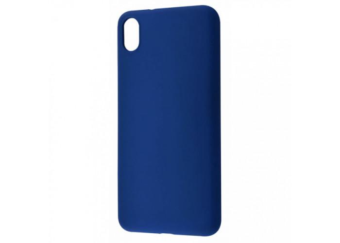 Силиконовый чехол для Xiaomi Redmi 7A DF xi-01 Синий