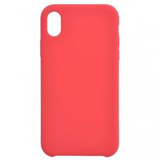 Чехол накладка для Apple iPhone XR CasePro Liquid case Красный