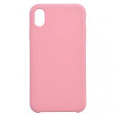 Чехол накладка для Apple iPhone XR CasePro Liquid case Розовый