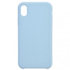 Чехол накладка для Apple iPhone XR CasePro Liquid case Бирюзовый
