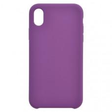 Чехол накладка для Apple iPhone XR CasePro Liquid case Фиолетовый