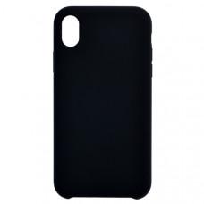 Чехол накладка для Apple iPhone XR CasePro Liquid case Черный