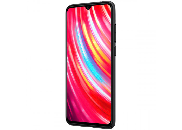Чехол накладка для Xiaomi Redmi Note 8 Pro Nillkin Super Frosted Shield Черный