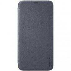 Чехол книжка для Apple iPhone XR Nillkin Sparkle Leather Case Черный