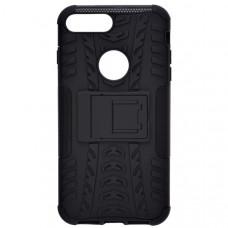 Чехол накладка для Apple iPhone 8 Plus Skinbox Defender case Черный