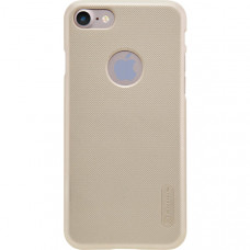 Чехол накладка для Apple iPhone 7 Nillkin Super Frosted Shield Золотой