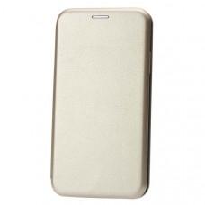 Чехол книжка для Apple iPhone XR Fashion Case 3D Золотой
