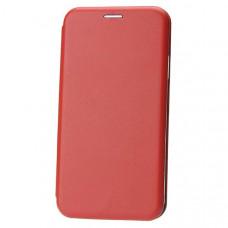 Чехол книжка для Xiaomi Redmi 8A Fashion Case 3D Красный