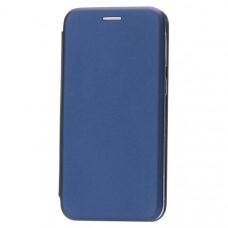 Чехол книжка для Samsung Galaxy A20S Fashion Case 3D Синий