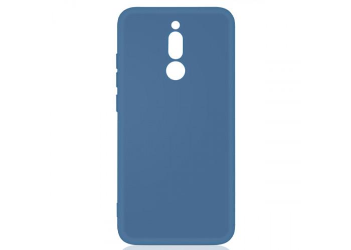 Силиконовый чехол для Xiaomi Redmi 8 DF xi-05 Синий