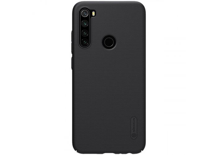 Чехол накладка для Xiaomi Redmi Note 8 Nillkin Super Frosted Shield Черный