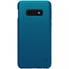 Чехол накладка для Samsung Galaxy S10e Nillkin Super Frosted Shield Синий