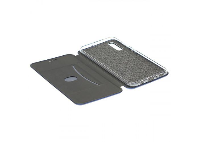 Чехол книжка для Xiaomi Mi9 Lite Fashion Case 3D Синий