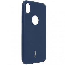 Силиконовый чехол для Apple iPhone XR Cherry Синий