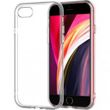 Силиконовый чехол для Apple iPhone 7 TPU 1мм Прозрачный глянцевый
