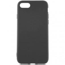 Силиконовый чехол для Apple iPhone 7 Plus TPU 1мм Черный матовый