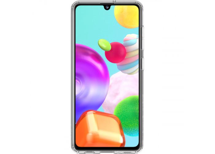Силиконовый чехол для Samsung Galaxy A41 Araree A Cover GP-FPA415KDATR Прозрачный
