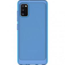 Силиконовый чехол для Samsung Galaxy A41 Araree A Cover GP-FPA415KDALR Синий