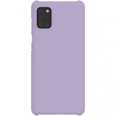 Чехол накладка для Samsung Galaxy A31 Wits Hard Case GP-FPA315WSAER Фиолетовый